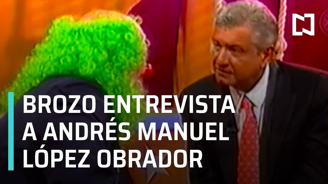 Brozo entrevista a Andrés Manuel López Obrador el 12 de Mayo de 2006