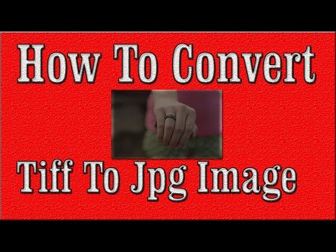 How To Convert Tiff To Jpg Using Paint