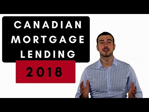 New Mortgage Rules Canada - How Lending Rules Are Changing In 2018