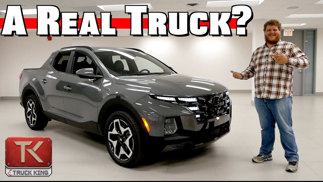 Is the Best New Small Pickup a Hyundai? Getting Up Close and Personal With the 2021 Santa Cruz