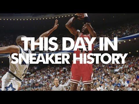 Michael Jordan Debuts the Air Jordan 11 - This Day in Sneaker History