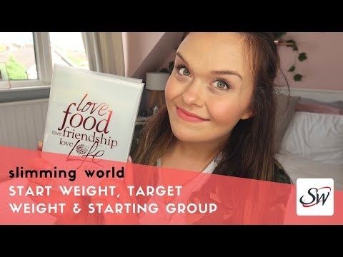 A NEW SLIMMING WORLD JOURNEY - STARTING SLIMMING WORLD, WHAT I WEIGH & MY TARGET WEIGHT