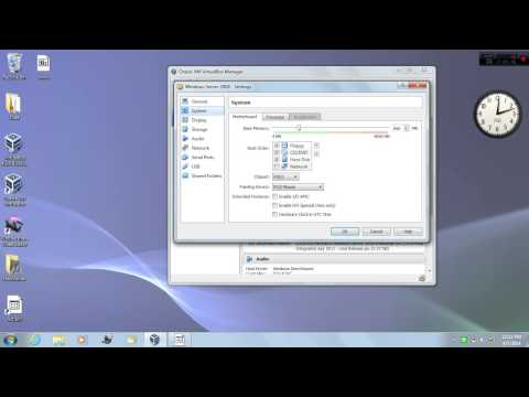How to increase image memory size in VM Virtualbox Manager