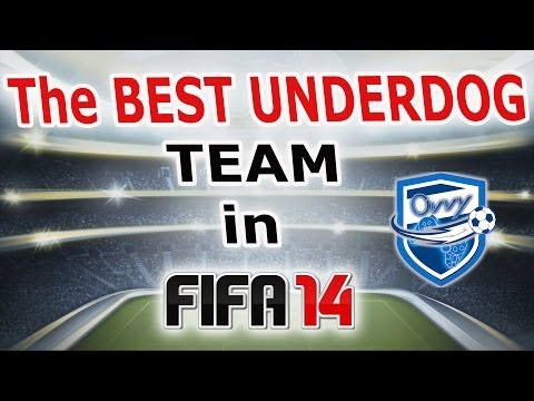 THE BIGGEST SURPRISE in FIFA 14 / THE BEST UNDERDOG TEAM / 2 STAR RATED AND PLAYING LIKE A 5 STAR
