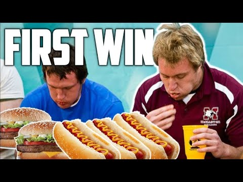 MY FIRST EATING CONTEST WIN! (10 Year Anniversary)