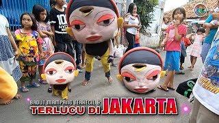 BADUT Mampang terKECIL & terLUCU di JAKARTA !! ⚫ 🎼Musiknya Mantap👍