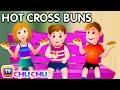 Hot Cross Buns Nursery Rhyme With Lyrics Cartoon Animation R