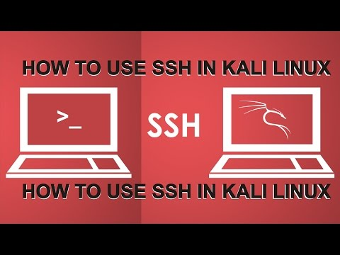 Kali Linux Course (16 How to use SSH in Kali Linux)