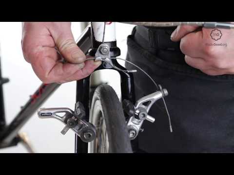 Close A Bike's Cantilever Brake