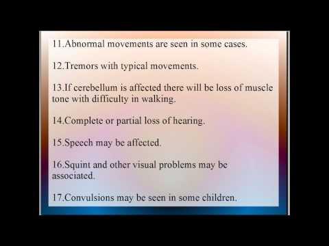 Cerebral Palsy, causes, symtoms,diagnosis & treatment, prognosis