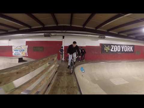 BMXing At Assylum Skate Park