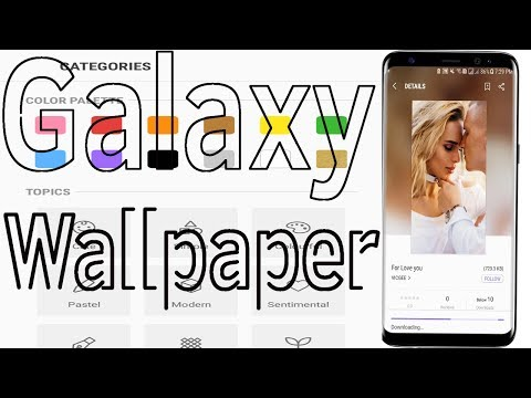 Galaxy Wallpaper : How To Change or Download Wallpaper On Samsung J7/S7/S8/S9N8/N9 - Helping Mind