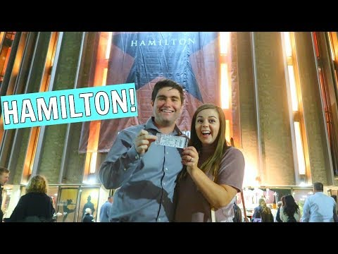 Husband Surprises Me with Front Row Seats to HAMILTON!