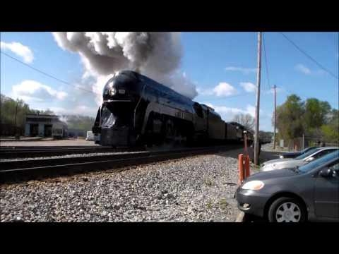 N&W 611 In Danville VA 4/9/16