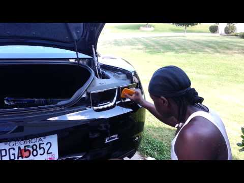 2013 camaro tinted taillights