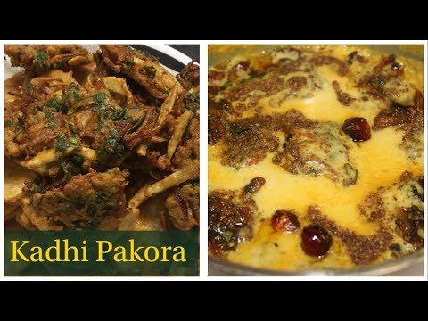 Tasty Kadhi Pakora Recipe - स्पेशल पकोड़ा कढ़ी - Pakora Karhi Recipe by (Cook with Madeeha)