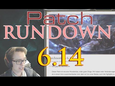 Patchnotes Rundown 6.14 (Taliyah Hype INC?) (German)