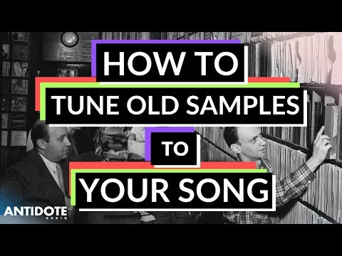 How To Correct Out Of Tune 'Old Samples' In Your Song : Ableton Tutorial