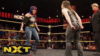 Asuka and her challengers meet before TakeOver: San Antonio: WWE NXT, Jan. 25, 2017