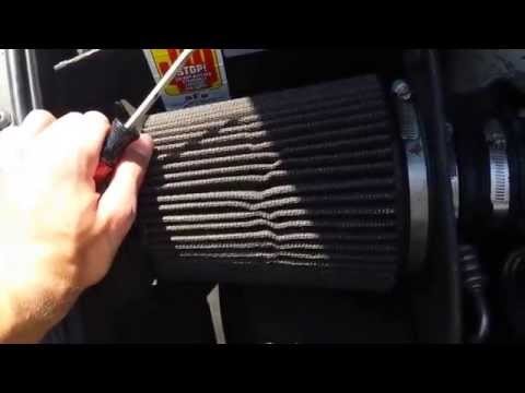 Cleaning My Aftermarket Air Filter E39 540i