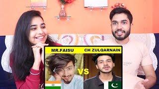 Zulqarnain vs Mr Faisu | India vs Pakistan Tik Tok | Who is better?