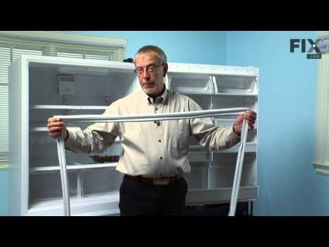 Amana Refrigerator Repair – How to replace the Fresh Food Door Gasket