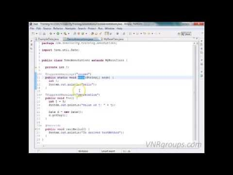 Java Annotations Tutorial With Programming