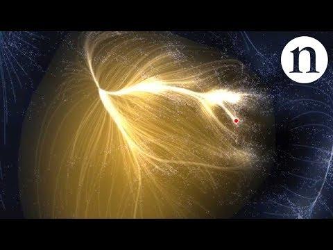 Astrônomos mapeiam o superaglomerado de galáxias do qual a Via Láctea faz parte