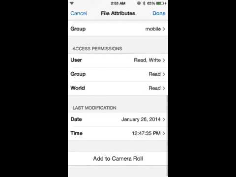 How to put movie box movies on your camera roll