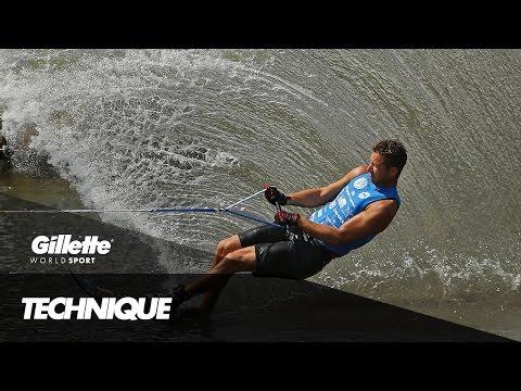 Precision Technique in Slalom Water Ski | Gillette World Sport