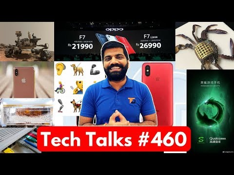 Tech Talks #460 - Oppo F7, Mi A2, Flat Earth, Black Shark Gaming Phone, Nokia 1, Drinking Water