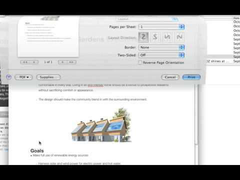 Apple Quick Tips: Easily Create PDFs