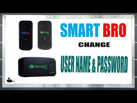 How to change Smart bro pocket  Wi-Fi Name and Password (UPGRADED 2018)