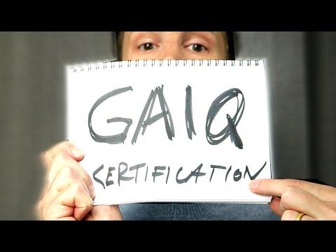 GAIQ Unprepared - Expert on Google Analytics Certification Exam