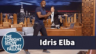 Idris Elba Shows Off His Slick Footwork Dance Moves