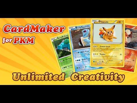 Card Maker for Pokemon - create your cute pikachu card
