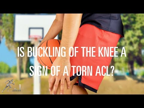 Is my knee giving out a sign of an ACL injury?