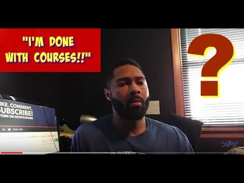 "No More ""How To Make Money Online"" Courses For Me!!"