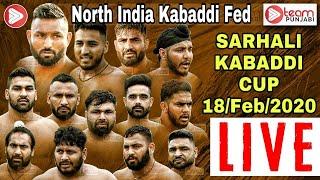 Sarhali North India Kabaddi Federation Cup 18 Feb 2020