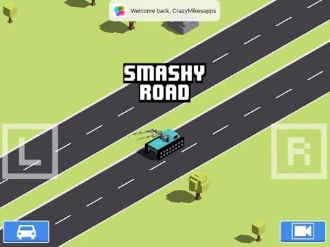 Smashy Road: Wanted iPad Gameplay - CrazyMikesapps