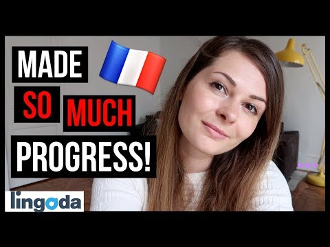 HOW I LEARNT FRENCH ONLINE | Learn French at Home w/ Lingoda