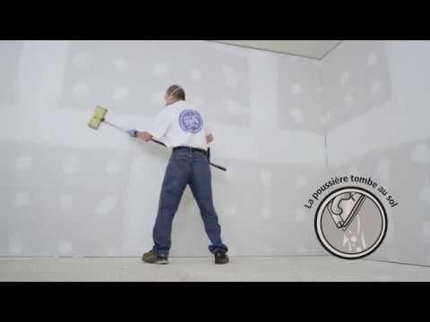 Vidéo d'application du composé à joint Dust Away® Roll-On (Français Canadien)