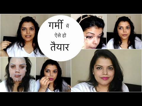 FOR a SUMMERY DAY - GET READY WITH ME FT. BOX FETISH MARCH - PREETIPRANAV