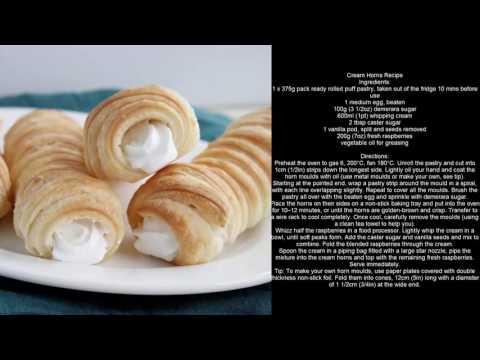 Easy Cooking | Cream Horns Recipe