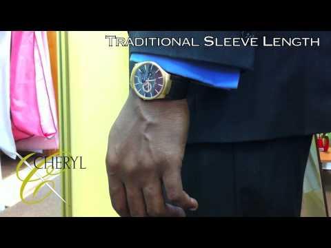Cheryl A Lofton Salon: The Traditional Suit Jacket Sleeve Length