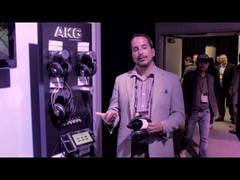 2016 Namm Show: AKG Headphones