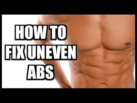 How To Fix Uneven Abs