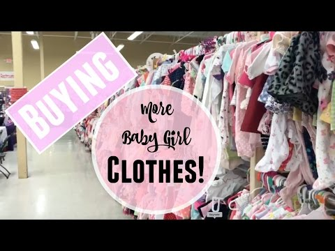 Buying more baby girl clothes! | On a budget