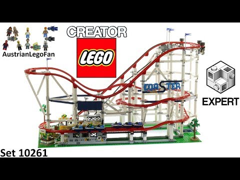 Lego Creator 10261 Roller Coaster - Lego Speed Build Review