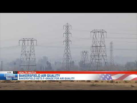 Bakersfield again ranks among places with worst air in the nation
